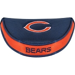 Chicago Bears Team Effort Mallet Golf Putter Cover