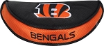 Cincinnati Bengals Team Effort Mallet Golf Putter Cover