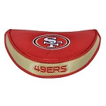 San Francisco 49ers Team Effort Mallet Putter Cover
