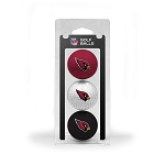 Arizona Cardinals 3 Ball Clamshell