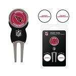 Arizona Cardinals Divot Tool Set of 3 Markers