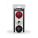 Atlanta Falcons 3 Golf Ball Clamshell
