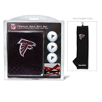 Atlanta Falcons Embroidered Towel Golf Gift Set