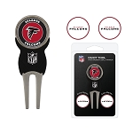 Atlanta Falcons Golf Divot Tool Set of 3 Markers