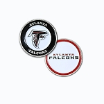 Atlanta Falcons Double Sided Golf Ball Marker