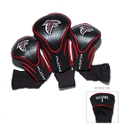Atlanta Falcons NFL Set of Three Contour Golf Headcovers