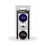 Baltimore Ravens 3 Golf Ball Clamshell