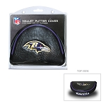 Baltimore Ravens Mallet Golf Putter Cover