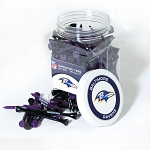 Baltimore Ravens 175 Golf Tee Jar