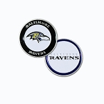 Baltimore Ravens Double Sided Golf Ball Marker