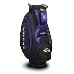 Baltimore Ravens NFL Team Victory Golf Cart Bag