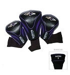 Baltimore Ravens NFL Contour Set of Three Golf  Headcovers