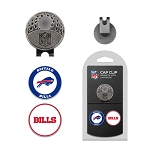 Buffalo Bills 2 Marker Golf Cap Clip