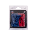 Buffalo Bills 50 Imprinted Golf Tee Pack