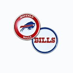 Buffalo Bills Double Sided Golf Ball Marker
