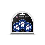 Buffalo Bills NFL Set of 3 Poker Chips