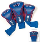 Buffalo Bills NFL Set of Three Contour Golf Headcovers