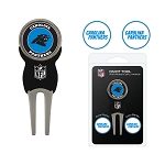 Carolina Panthers Golf Divot Tool Set of 3 Markers