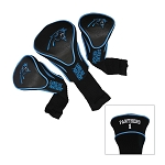 Carolina Panthers  NFL Set of Three Contour Golf Headcovers