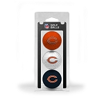 Chicago Bears 3 Golf Ball Clamshell