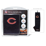 Chicago Bears Embroidered Towel Golf Gift Set