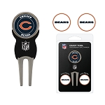 Chicago Bears Golf Divot Tool Set of 3 Markers