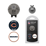 Chicago Bears 2 Marker Golf Cap Clip