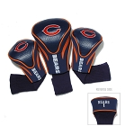 Chicago Bears  NFL Set of Three Contour Golf Headcovers