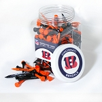 Cincinnati Bengals Jar of 175 Golf Tees