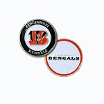 Cincinnati Bengals Double Sided Golf Ball Marker