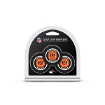 Cincinnati Bengals NFL Set of 3 Golf Poker Chips