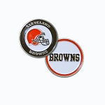 Cleveland Browns Double Sided Golf Ball Marker