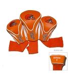 Cleveland Browns Set of Three Contour Golf Head Covers