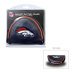 Denver Broncos Mallet Golf Putter Cover