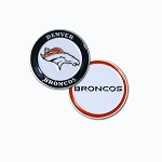 Denver Broncos Double Sided Golf Ball Marker