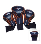Denver Broncos Contour Golf Head Cover Set