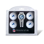 Detroit Lions 4 Golf Ball / Divot Tool Gift Set