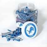 Detroit Lions Jar of 175 Golf Tees