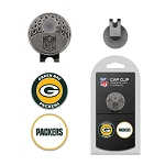 Green Bay Packers 2 Marker Golf Cap Clip