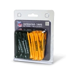 Green Bay Packers 50 Imprinted Golf Tee Pack
