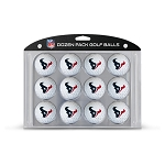 Houston Texans Dozen Golf Balls