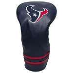 Houston Texans Vintage Driver Golf Head Cover