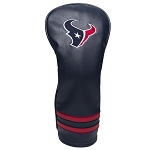 Houston Texans Vintage Fairway Golf Head Cover