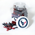 Houston Texans Jar of 175 Golf Tees