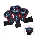 Houston Texans NFL Contour Golf Head Cover Set