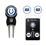 Indianapolis Colts Golf  Divot Tool Set of 3 Markers
