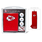 Kansas City Chiefs Embroidered Towel Golf Gift Set