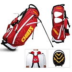 Kansas City Chiefs Team Golf NFL Fairway Stand Bag