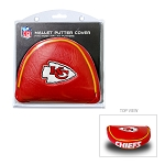Kansas City Chiefs Mallet Golf Putter Cover