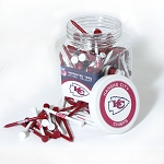 Kansas City Chiefs  Jar of 175 Golf Tees